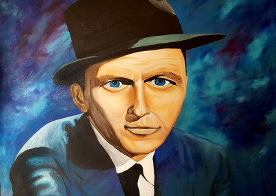 Painting – Stare of Sinatra