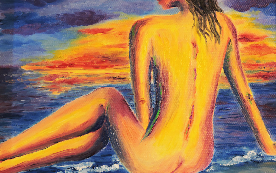 Painting- Bare Thoughts