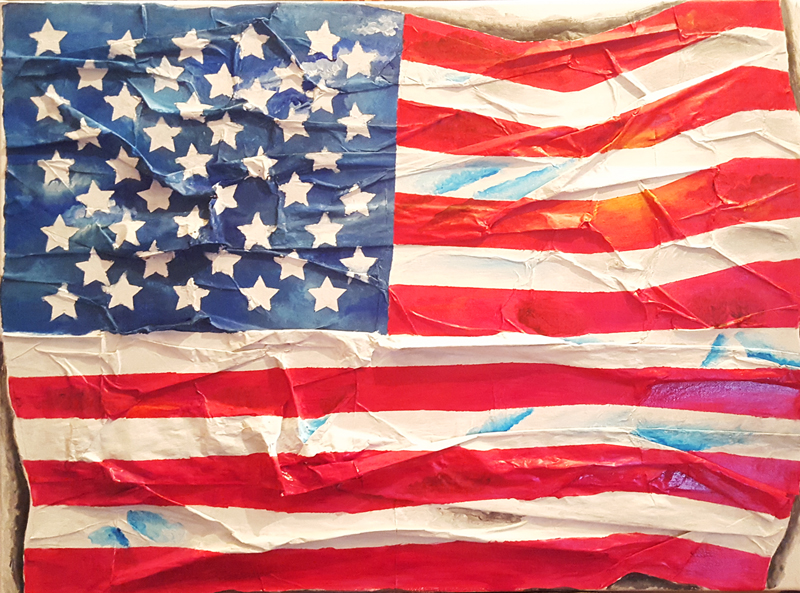 Painting – America the Beautiful