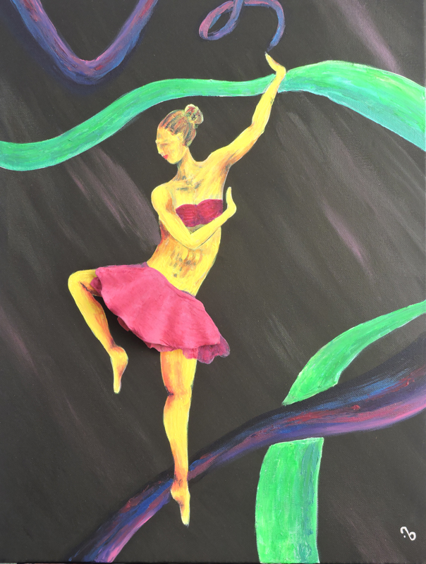 Painting – Dance of Creativity