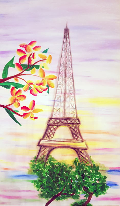 Painting – The Happiness of Paris
