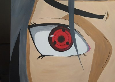 Painting – Itachi Sharingan